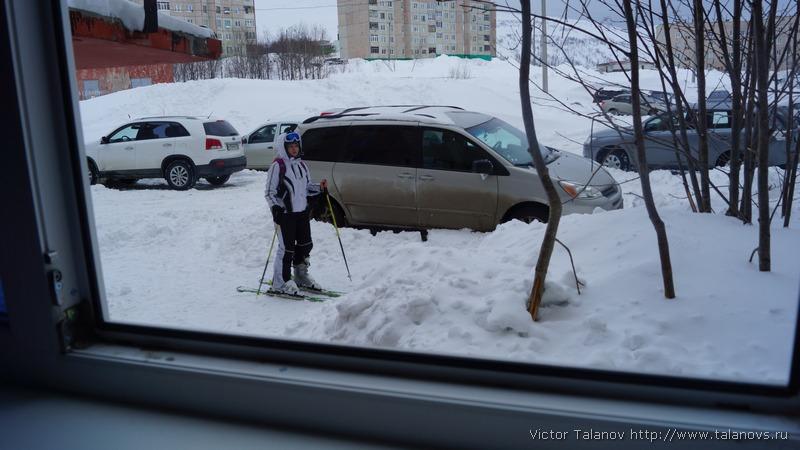Toyota Sienna Club - Москва-Кировск(лыжи)-Питер-Москва.