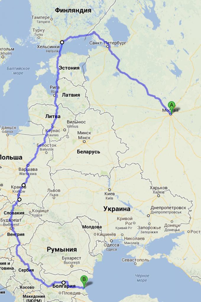 Toyota Sienna Club - Поездка на машине в Болгарию