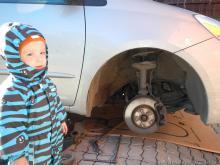 Замена ремня ГРМ на  3MZ-FE (Toyota Sienna) своими силами.